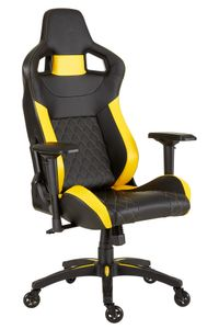 CORSAIR T1 Race Gaming Chair Black/ Yellow (CF-9010015-WW)
