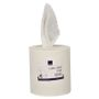 _ Håndklæderulle,  1-lags, Midi, 320m x 20cm, Ø18,5cm, hvid, 100% nyfiber, uden hylse