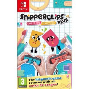 NINTENDO Snipperclips Plus: Cut it out, together! Switch (211021)