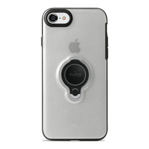 PURO iPhone 8/7, Magnet Ring Cover, Transp. (IPC747CMAGRINGTR)