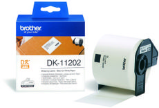 BROTHER P-Touch DK-11202 die-cut mailing label 62x100mm 300 labels