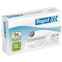 RAPID Staples 26/6 standard galvanized (1000)