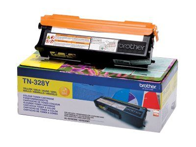 BROTHER Toner Brother  TN328Y gul  6000 sider (TN328Y)