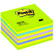 POST-IT POST-IT® kube 76x76mm 2028NB neon blå/gr