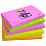 POST-IT Notes 655S-N Super Sticky 76x127mm Neon Ass. Pk.5