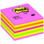 POST-IT 2028NP Kubus neon 76x76mm Lollipop