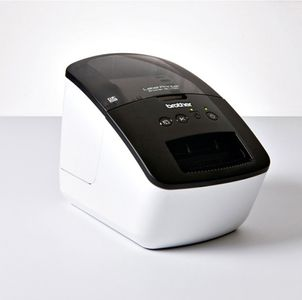 BROTHER QL-700 Thermal Label Printer Up to 62mm Print 300x600 DPI Print Resolution (QL700ZW1)