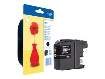 BROTHER Ink Cartridge Black 300 pages (LC121BK)