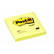 POST-IT POST-IT notatblokk 76x76mm 654 gul