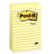 POST-IT POST-IT® notatblokk 102x152 660 linj gul
