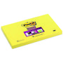 POST-IT Notes 655S Super Sticky Gul 76x127mm