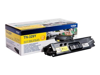 BROTHER TN-329Y TONER CARTRIDGE YELLOW F/ HL-L8350CDW 6000PGS SUPL (TN329Y)