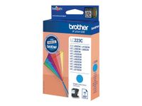 BROTHER LC223C ink cartridge cyan (LC223C)