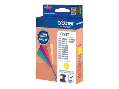 BROTHER LC223Y ink cartridge yellow (LC223Y)