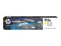 HP INK CARTRIDGE NO 913A YELLOW PAGEWIDE SUPL (F6T79AE)