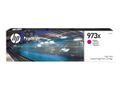 HP INK CARTRIDGE NO 973X MAGENTA PAGEWIDE / HIGH YIELD SUPL