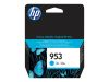 HP Cyan Inkjet Cartridge No.953 (F6U12AE)
