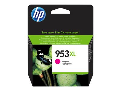 HP Magenta Inkjet Cartridge No.953XL (F6U17AE)