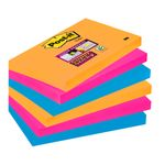 POST-IT Notes Super Sticky 655 Bangkok 76 x 127mm Pk/6