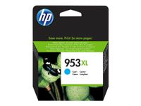 HP Cyan Inkjet Cartridge No.953XL (F6U16AE)