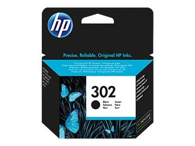 HP F6U66AE ink cartridge black No. 302 (F6U66AE)
