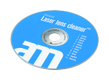 AM CD/ DVD/ Blue-Ray Laser lens cleaning disc, easy cleaning, blue