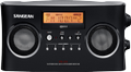 SANGEAN FM/AM portable radio, stereo, 5 favorites, long battery, LCD,