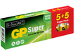 GP Super Alkaline AA (LR-6) Display Box *10x10-pack* **ETA IN JUNE**