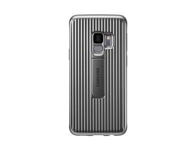 SAMSUNG Protective Standing Cover Sølv, for Galaxy S9 (EF-RG960CSEGWW)