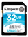 KINGSTON 32GB SDHC Canvas Go 90R/45W CL10 U3 V30
