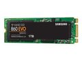SAMSUNG 860 EVO 1TB M.2 SSD M.2 2280, SATA 3.0,  V-NAND MLC, up to 550/520MB/s read/write, 600 TBW