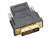 DVI Male to HDMI Femaleadapter with gold plated contacts (AK-CBHD03-BK)