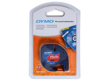DYMO Letratag red 12mm x 4 m            91223 (S0721680)