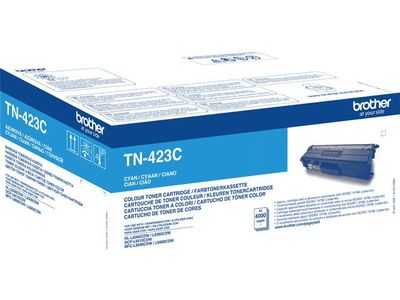 BROTHER Toner TN-423C Cyan 6.500S., L8260 / L8360 Jumbo (TN423C)