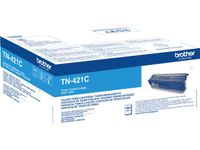 BROTHER Toner Cartridge Cyan 1.800 pages for HL-L8260CDW,  L8360CDW (TN421C)
