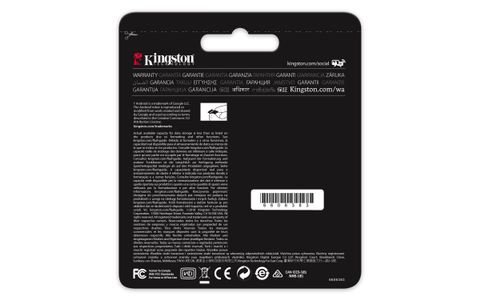 KINGSTON Flash card Micro-SD 64GB React (SDCR/64GB)