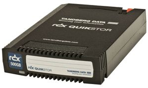 TANDBERG RDX QUIKSTOR 500GB REMOVABLE DISK CARTRIDGE (8541-RDX)