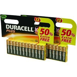 DURACELL Plus Power 2 X MN2400B12 (MN2400-X24)
