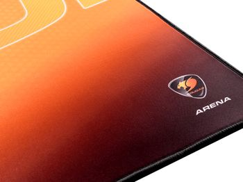 COUGAR Mouse pad Arena extra large Orange (3PAREHBXRB5.0001)