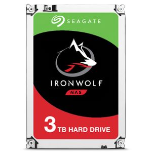 SEAGATE IronWolf HDD 3.5'' 3TB SATA3 5900RPM 64MB (ST3000VN007)