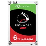 SEAGATE Ironwolf 6TB 3.5'' NAS HDD 7200rpm 256MB Cache