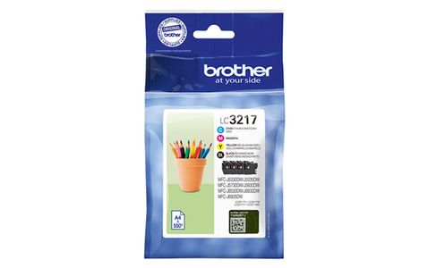 BROTHER Ink LC-3217VALDR Value Pack (LC3217VALDR)