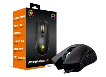 COUGAR Mice Optical RGB Revenger S PMW-3360 12000 dpi (3MRESWOB.0001)