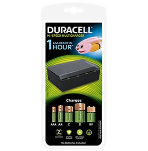 DURACELL Multi Charger for AA/ AAA/ C/ D/ 9v (CEF22-EU)