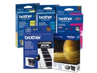 BROTHER LC125XLBK black ink (LC127XLBK)