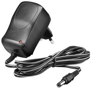 GOOBAY 12 V Power Supply. black. 1.8 m - with 5.5 Factory Sealed (57287)