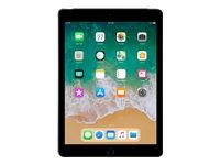 "APPLE iPad 9.7"" 128GB Cell Grå WiFi+Cell,  9.7"" FHD retina-skjerm,  8MP/1.2MP Kamera, iOS 11 (MR722KN/A)"
