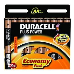 DURACELL Plus Power AA 20 Pack (MN1500B20)