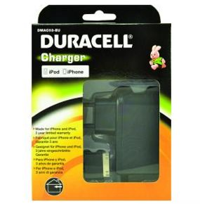 DURACELL AC Phone Charger (iPhone) (DMAC03-EU)