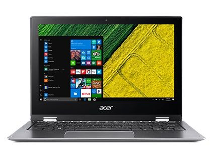 """ACER Spin 1 SP111-32N 11.6"""" FHD touch Pentium N4200 Quad Core, 4GB RAM, 64GB SSD, Active Pen, Windows 10 S (NX.GRMED.008)"""